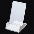 C-1 Mini Portable Desktop Acrylic Show Holder for Mobile Phone - Transparent