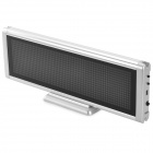 C1664R Aluminum 48 x 16 Dot Matrix Red LED Screen Module - Black + Silver (100~240V)