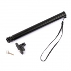 PANNOVO Retractable Handheld Pole Monopod for GoPro - Black + Blue
