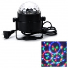 MLB-3 Magic Ball Style 4W Auto RGB LED Stage Light - Black (AC 90~240V)