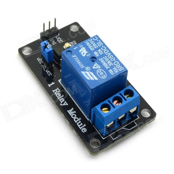 Jtron 1 Channel Opto-isolated Relay Module / Isolation Module - Black pcld 885 data acquisition card of 16 power relay output board 100