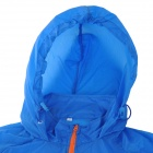 Outto #009A Ultrathin Cycling / Running Polyester Jacket for Men - Royal Blue + Orange (XXL)