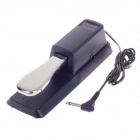 CHERUB WTB-005 Electric Piano / electronic Organ Sustain Aluminum Alloy Pedal - Black + Silver