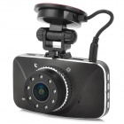 "GS8800 FHD 1080P 2.7"" TFT 5.0MP CMOS Wide Angle Car DVR w/ GPS Tracker, G-Sensor, IR Night Vision"