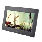 "C131021003 10.1"" TFT Desktop Digital Photo Frame with SD, MMC, USB, Earphone - Black (16MB)"