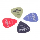 Alice 0.58mm Guitar Picks The Transparent Plastic Box - Red + Black + Blue + Green (100PCS)