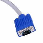 CMVGA5 High Quality VGA Male to Male Connection Cable - Blue + Grey (5m)