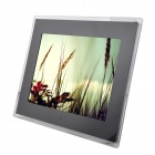 "C131021009 14"" LED Desktop Digital Photo Frame with SD / 3.5mm / USB - Black (16MB / US Plug)"