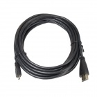 ULT-Unite ULT4012-1164 HDMI 1.4 Male to Micro HDMI Male D HD Signal Transmission Cable - Black (5m)