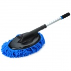 JH-10 Retractable Car Waxing Cleaning Brush - Black