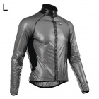 Monton Ultrathin Cycling Polyester Fiber Jacket - Black (L)