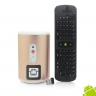 Jesurun Q8 + RC11 Air Mouse Quad-Core Android 4.2.2 Google TV Player w/ 2GB RAM, 8GB ROM, 2.0MP Cam