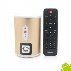 Jesurun Q8 Quad-Core Android 4.2.2 Mini PC w/ 2.0 MP Cam, 2GB RAM, 8GB ROM, Remote Control, US Plug