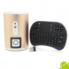 Jesurun Q8 Quad-Core Android 4.2.2 Mini PC w/ 2GB RAM, 8GB ROM, 2.0MP Cam, Keyboard, US Plug, MIC