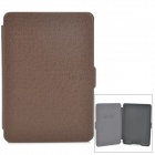 Ultrathin Protective PU Leather Case w/ Auto Sleep for Kindle Paperwhite - Brown