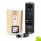 Jesurun Q8+F10 Pro Air Mouse Quad-Core Android 4.2.2 Google TV Player w/ 2GB RAM, 8GB ROM, 2.0MP Cam