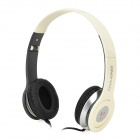 OVLENG X1 Hi-Fi Headset Headphone w/ Microphone - White
