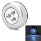 CB-1002 10W 3-LED 30lm 7000K Cool White Car Trunk / Reading Light (3 x AAA)