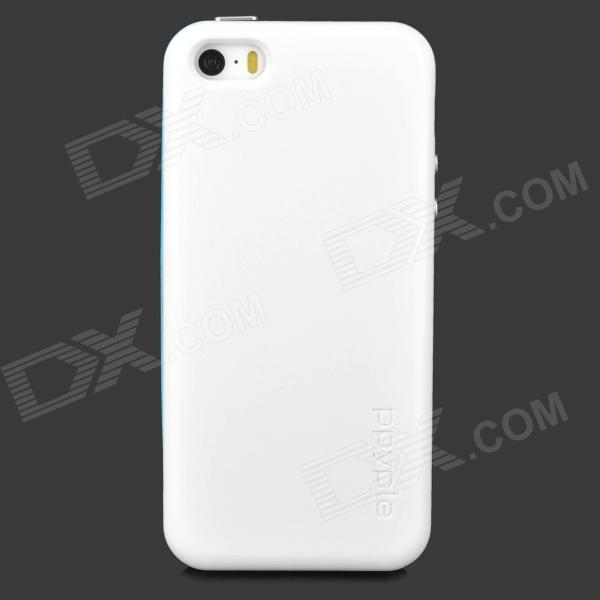 ppyple ACi5 Case w/ Signal Enhancement / Power Saving / IC Card Holder for Iphone 5 / 5s - White ppyple ac2 case w signal enhancement power saving ic card holder for iphone 4 4s light blue