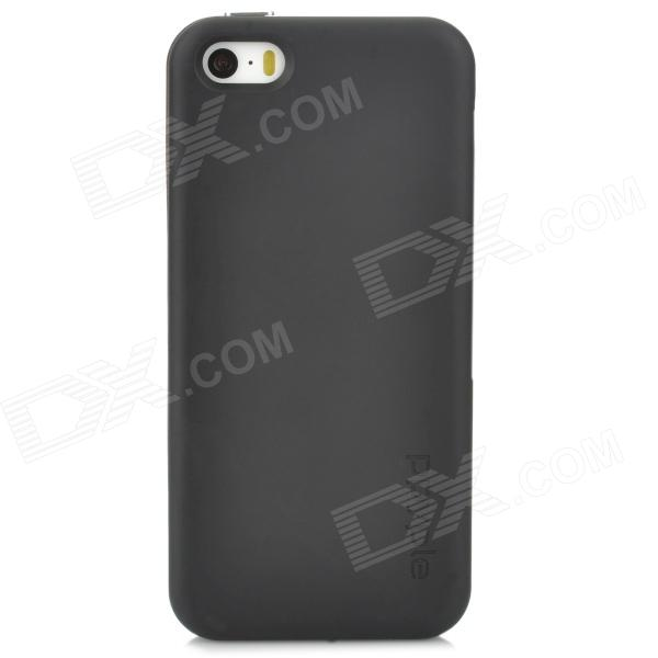 ppyple ACi5 Protective PC Case w/ IC Card Slot for Iphone 5 / 5s - Black + Coffee