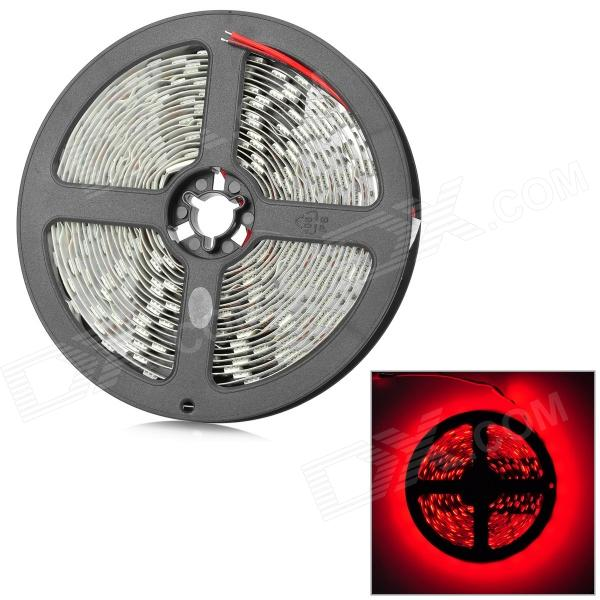 JRLED 60W 1500lm 465~470nm 300-SMD 5050 LED Red Car Light Strip (12V / 5m)