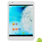 "Ramos x10pro 7.85"" Android 4.2 Quad-Core Tablet PC w/ 1GB RAM / 16GB ROM / 1 x SIM - Silver + White"