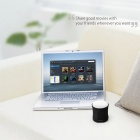 MOCREO MINI Ultra-Portátil Wireless Bluetooth v3.0 Speaker w / Microfone - Preto