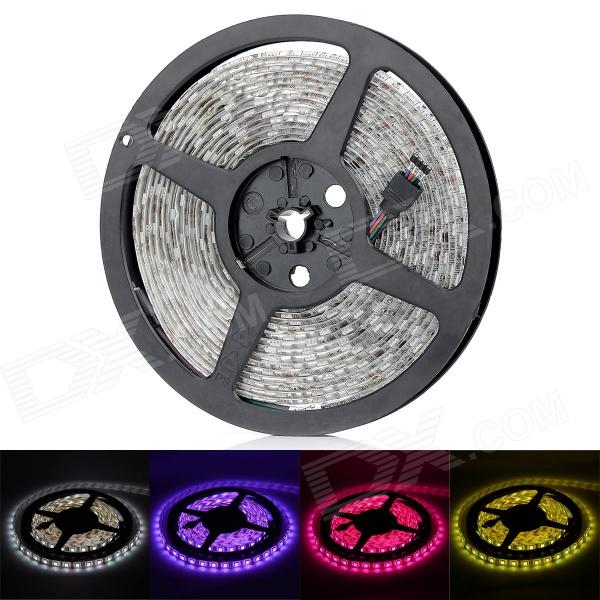 HML Waterproof 72W 5000lm 300 x SMD 5050 LED RGB Light Car Decoration Light Strip - (12V / 5M)