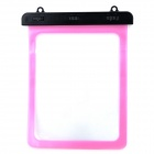 Universal Waterproof Protective PVC Bag for 10.1'' Tablet PC w/ Strap - Pink