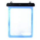 Universal Waterproof Protective PVC Bag for 10.1'' Tablet PC w/ Strap - Light Blue