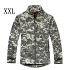 ESDY-0106 Commander Outdoor Sports Waterproof Warm Polyester Jacket for Men - Camouflage (XXL)