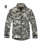 ESDY-0106 Commander Outdoor Sports Waterproof Warm Polyester Jacket for Men - Camouflage (M)