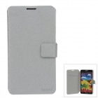 SLDPJ Fashionable Ultra-thin Protective PU Leather Case Cover for Samsung Galaxy Note3 N9000 - Grey