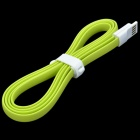 CHEERLINK S-1 Magnetic USB Male to Micro USB Data Sync / Charging Cable for Samsung - Fruit Green