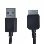 KS-U330 USB 3.0 macho a Micro B 9-Pin Data Hombre / cable de carga para Samsung Galaxy Note 3 - Negro