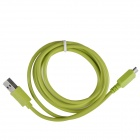 KS-U330 USB 3.0 Male to Micro B 9-Pin Male Data / Charging Cable for Samsung Galaxy Note 3 - Green