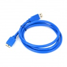 USB 3.0 Male to Micro B 9-Pin Male Connection Cable (100cm)