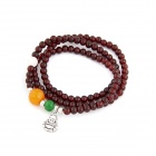 Fashionable Lucy Artificial Garnet Bracelet - Wine Red