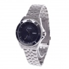 Haibo Stylish Stainless Steel Band Men's Automatic Mechanical Wristwatch w/ Date / Week Display