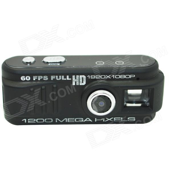 GT-05 12.0 MP CMOS HD 1080P Mini DV-Camcorder w - TF - zwart