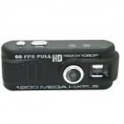 GT-05 12.0 MP CMOS HD 1080P Mini DV Camcorder w/ TF - Black