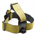 GP23 Camera Fixed Headband for GoPro Hero2 / Hero3 / 3+ - Black + Golden