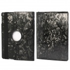 360' Rotation Protective PU+ PC Case Cover w/ Stand / Sleep for Ipad 5 / Ipad AIR - Black