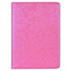 360' Rotation Protective PU+ PC Case Cover w/ Stand / Sleep for Ipad 5 / Ipad AIR - Pink