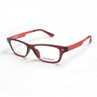 Reedoon UT2276-C525 Ultralight Plastic Steel Myopia Glasses Frame - Red