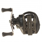 Yoshikawa 7+1 Bearing Right Hand Fishing Reel - Black + Silver