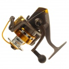 Yoshikawa TB6000 10 Shaft Alloy Fishing Reel - Bronze + Black + Golden