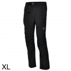 Outto Outdoor Sports Waterproof Polyester Pants for Men - Grey + Black (XL)