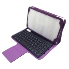 BK-310 Bluetooth V3.0 Ultratynn 59-Key Keyboard for Samsung Galaxy Tab 3 T310 / T311 - Purple