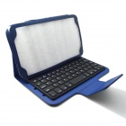 BK-310 Bluetooth V3.0 Ultra-thin 59-Key Keyboard for Samsung Galaxy Tab 3 T310 / T311 - Blue